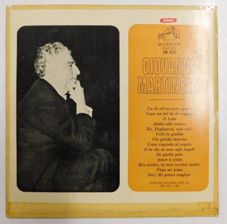 El Arte de Giovanni Martinelli LP (EX/VG) ARG
