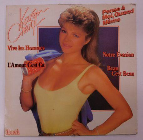 Karen Cheryl - Pense À Moi, Quand Même LP (VG+/VG) FRANCE