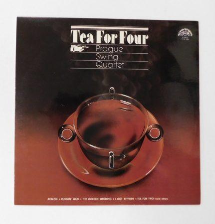 Prague Swing Quartet - Tea For Four LP (NM/NM) CZE., 1981