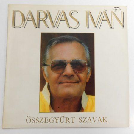Darvas Iván - Összegyürt Szavak LP (EX/EX)