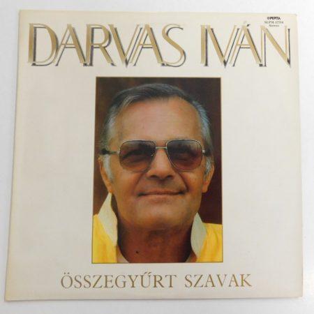 Darvas Iván - Összegyűrt Szavak LP (VG+/VG+)