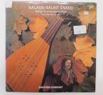 Bakfark Consort - Balassi Bálint Énekei LP (EX/VG) +inzert