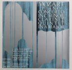 Mozart: Piano Concerto in C Minor / Clarinet Quintet / Lehhel György LP (VG+/EX) HUN