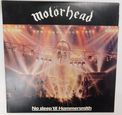 Motörhead - No Sleep 'til Hammersmith LP (VG+/VG) JUG