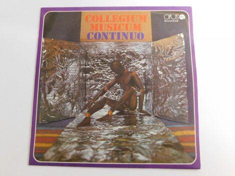 Collegium Musicum - Continuo LP (EX/VG+)