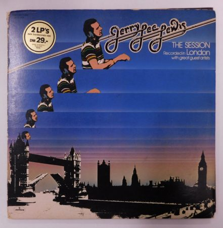 Jerry Lee Lewis - The Session London 2xLP (VG+/VG) GER.