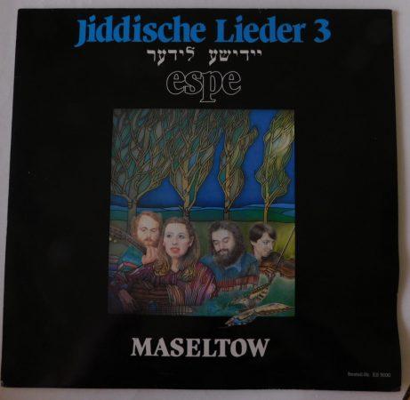 Espe - Jiddische Lieder - Maseltow LP (EX/VG) GER