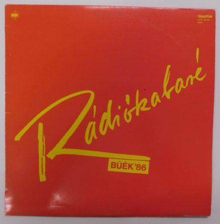 Rádiókabaré - BUÉK 86 LP (VG+/VG+)