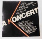 Illés, Koncz, Fonográf, Tolcsvay - A Koncert 2xLP (NM/EX)