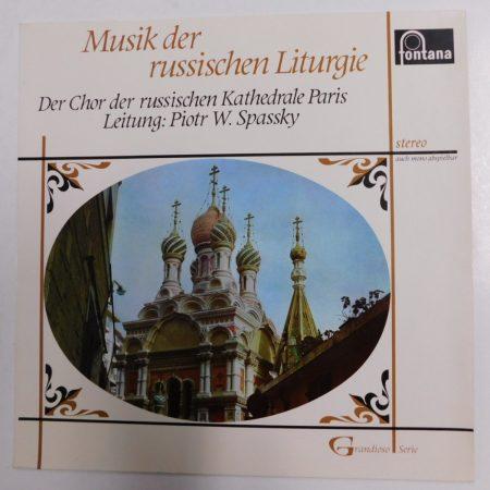 Musik der Russischen Liturgie - Spasky LP (EX/EX) HOLL