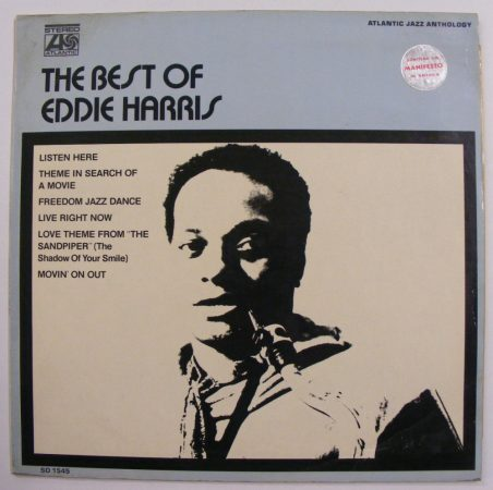 The Best of Eddie Harris LP (VG/EX) ITALY