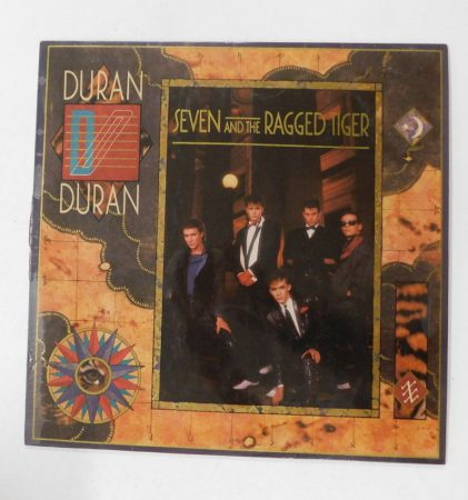 Duran Duran - Seven And The Ragged Tiger LP (EX/VG-) IND.