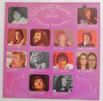 Les Grands Moments de la Chanson Francaise LP (EX/VG) FRA