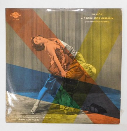 Bartók - A Csodálatos Mandarin LP (VG+/VG) HUN.