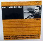 Ede Zathureczky - Nagy Magyar Előadóművészek LP (G+/VG+) HUN.