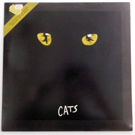 Andrew Lloyd Webber - Cats LP macskák (NM/NM) holland