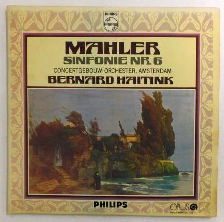 Mahler Concertgebouw-Orchester, Amsterdam, Bernard Haitink - Sinfonie Nr. 6 2xLP (EX/VG+) CZE