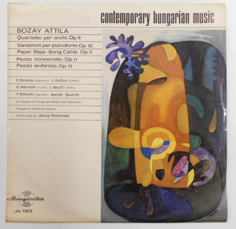 Contemporary Hungarian Music - Bozay Attila LP (VG+/VG+) HUN