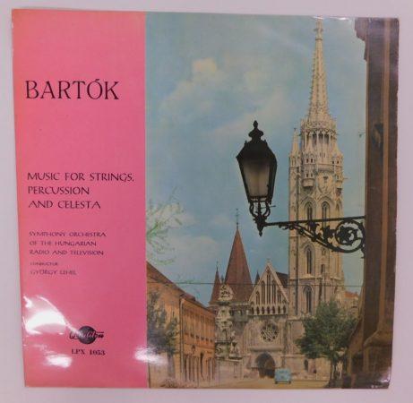 Bartók, Lehel - Music For Strings, Percussion And Celesta LP (VG+/VG) HUN