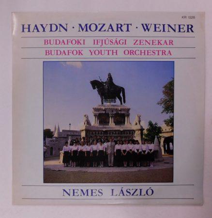 Haydn, Mozart, Weiner, Nemes László - Budafoki Ifjúsági Zenekar LP(NM/VG+)