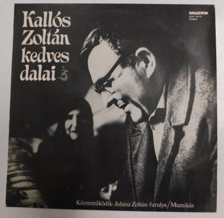 Kallós Zoltán kedves dalai - Romániai magyar népdalok LP (NM/NM)