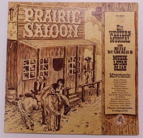 Heinz Wunderlich, Lotar Olias - Prairie Saloon LP (VG+/EX) GER.