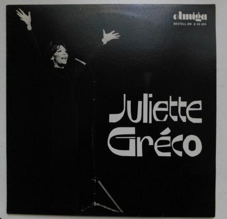 Juliette Gréco - Juliette Gréco LP (EX/EX) NDK