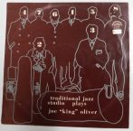 Traditional Jazz Studio Plays Joe King Oliver LP (VG+/VG+) CZE