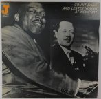 Count Basie and Lester Young - At Newport LP (NM/VG+) GER