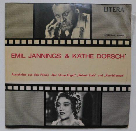 Emil Jannings - Kathe Dorsch - Ausschnitte aus den Filmen Der Blaue Engel, Robert Koch und Komödianten LP (EX/VG) GER