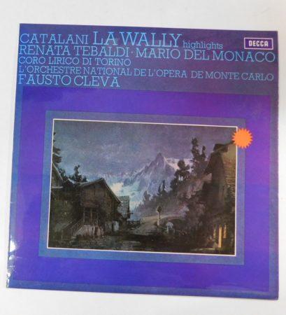 La Wally - Highlights LP (VG+/EX) UK.