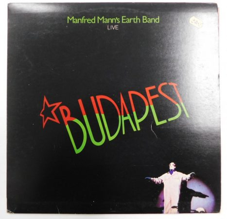 Manfred Manns Earth Band Live in Budapest LP (EX/VG+) JUG