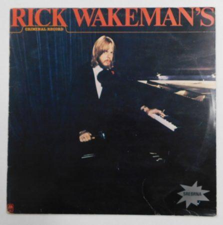 Rick Wakeman - Criminal Record (VG+/VG) JUG