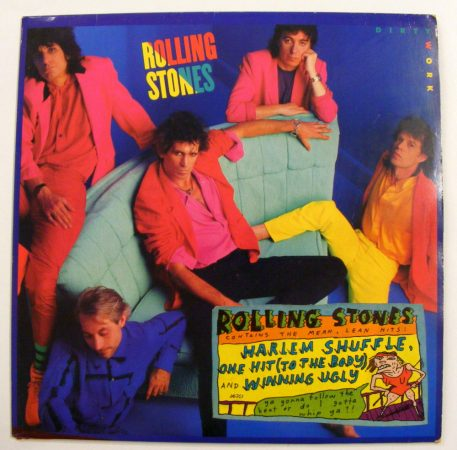 Rolling Stones: Dirty Work LP (EX/VG+) YUG