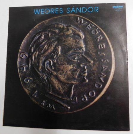 Weöres Sándor LP (rendezte: Török Tamás) (EX/VG+)