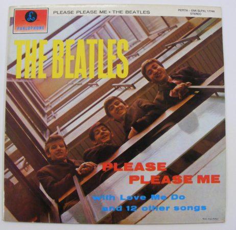 Beatles: Please Please Me LP (EX/EX) HUN