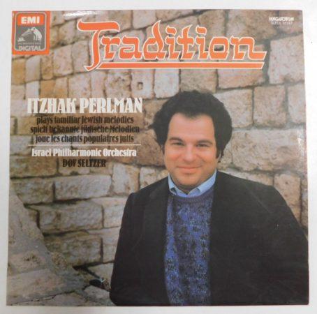 Itzhak Perlman plays familiar Jewish melodies - Tradition - LP (EX/EX) HUN