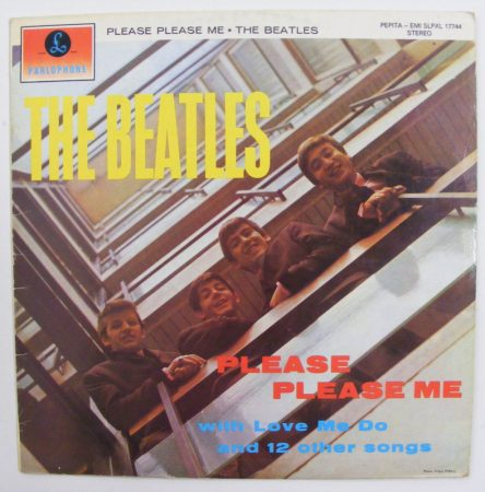 Beatles - Please Please Me LP (VG+/VG) HUN