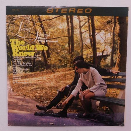 Living Strings Plus Two Pianos - The World We Knew LP (VG+/VG+) USA, 1968