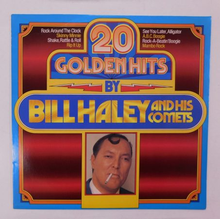 20 Golden Hits By Bill Haley And His Comets LP (NM/VG+) GER.