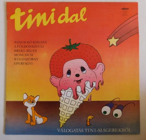 Tini dal - Válogatás tini-slágerekből LP (VG/VG+)