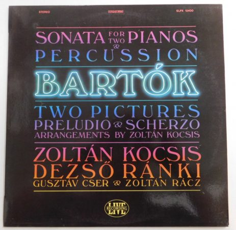 Zoltán Kocsis - Bartók: Sonata For Two Pianos And Percussion LP (NM/EX)