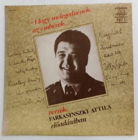 Farkasinszki Attila - Hogy Melegednének Az Emberek LP (EX/NM)
