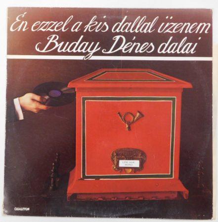 Buday Dénes dalai LP (EX/VG)