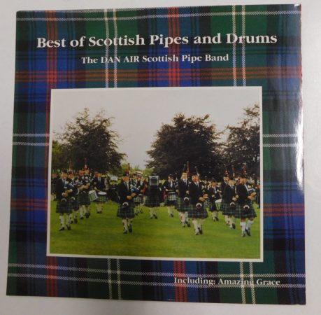 Best of Scottish Pipes and Drums LP (NM/NM) GER