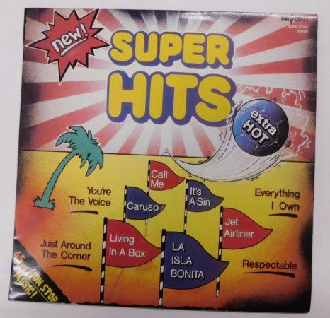 V/A - Super Hits Extrahot LP (NM/VG+) HUN.