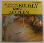 Kodály: Complete Piano Music - Zempléni Kornél 2LP (NM/NM) HUN