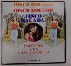 Nosotros Y La Gran Compania - Disco bolero, Disco balada 3xLP (EX/VG) Mexico