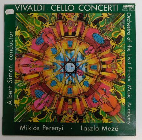 Vivaldi, Simon A., Perényi M., Mező L. - Gordonkaversenyek LP (NM/VG+)