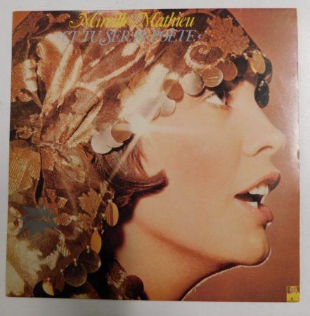 Mireille Mathieu -  Et Tu Seras Poéte LP (VG+/VG+) JUG